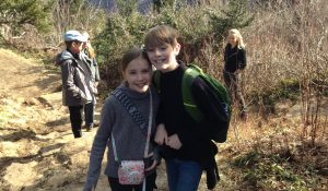 Hike To Cross at Mt. Lynn Lowry on 3-31-18