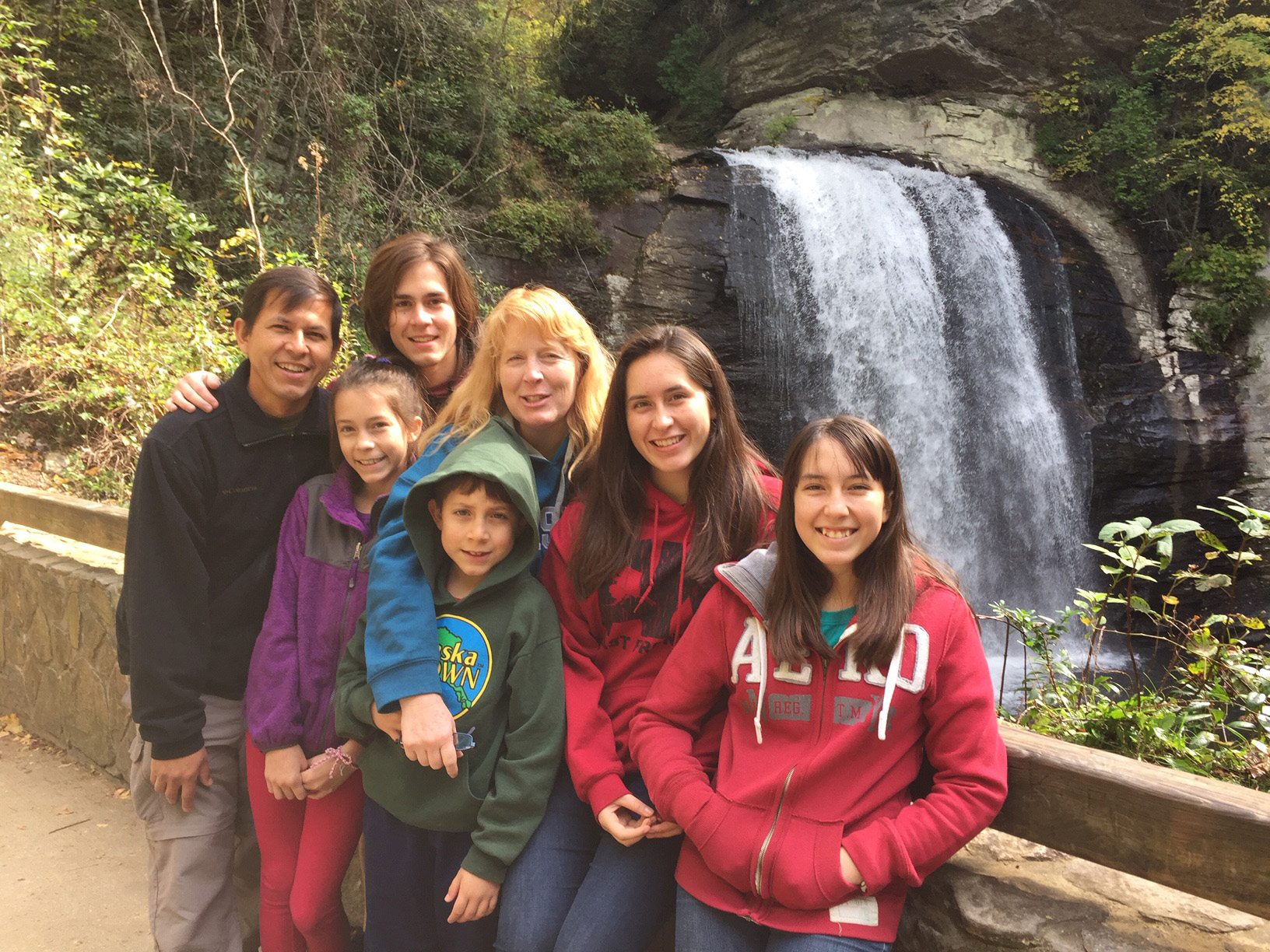 The Lizarazu Family, Missionaries in Bolivia come to visit October 2018