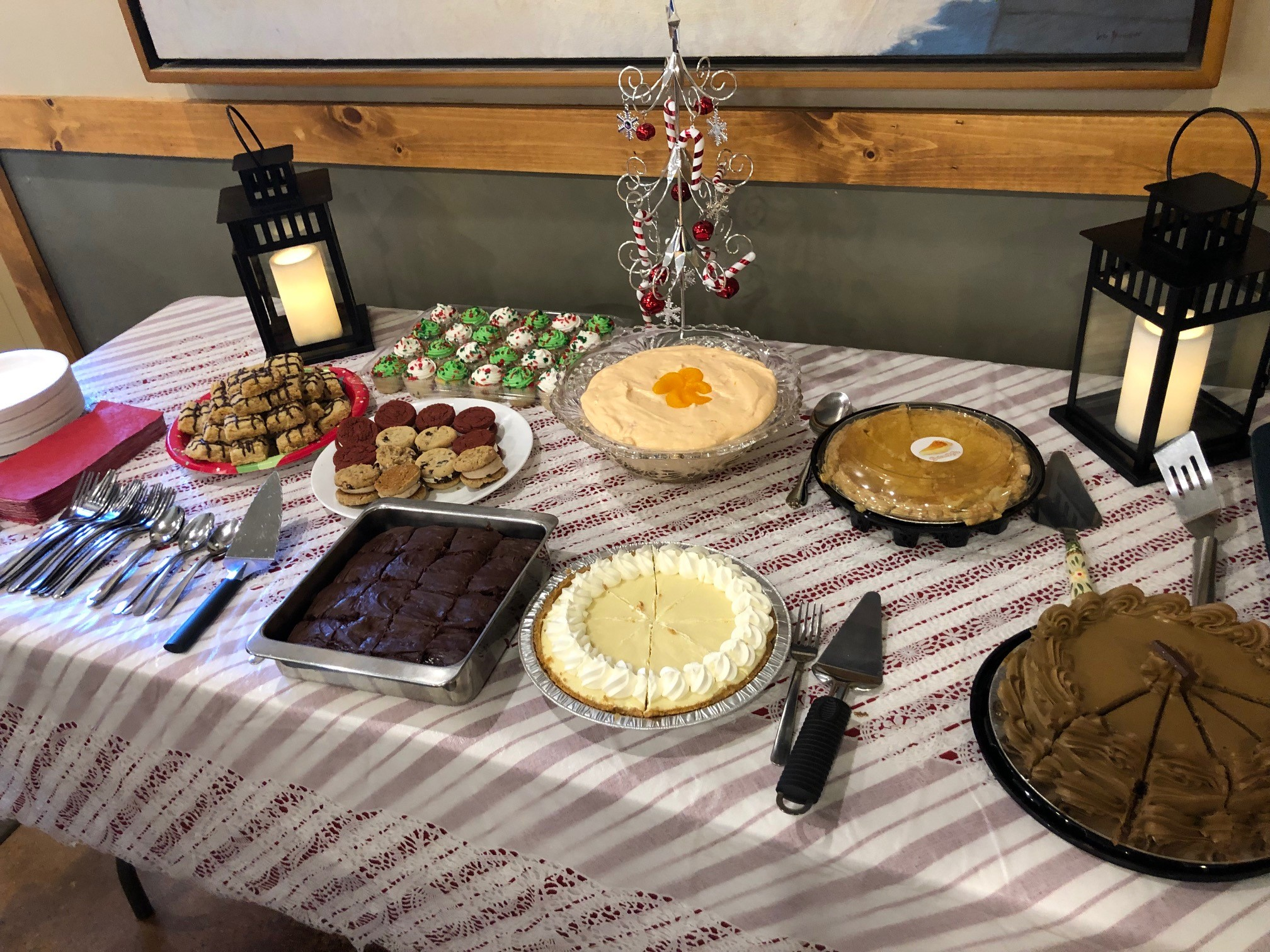 Christmas Desserts 2019.Providence Church Epc Christmas Dinner December 2019